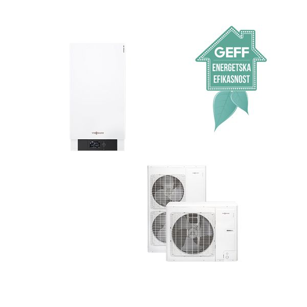 Toplotna pumpa VIESSMANN vazduh/voda VITOCAL 100-S grejanje i hladjenje