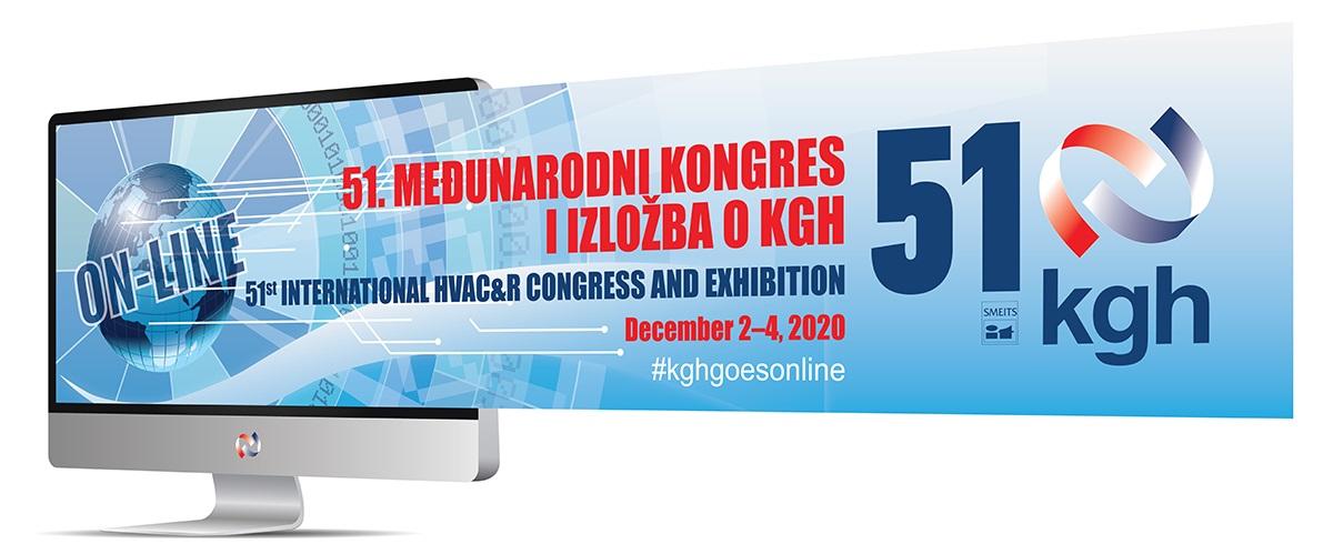 Posetite nas na predstojećem 51. Međunarodnom kongresu i izložbi KGH od 2. do 4. decembra 2020. godine