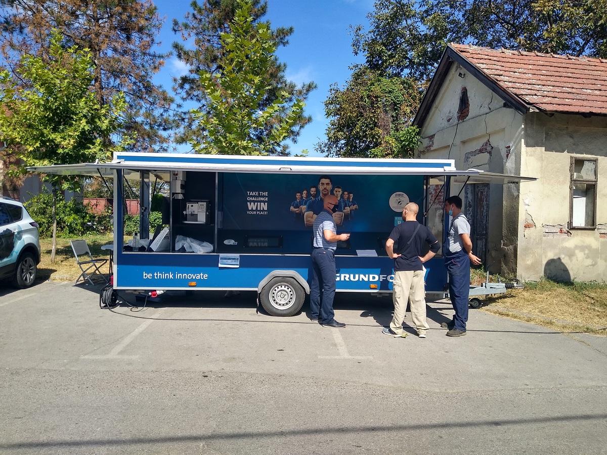 Group Protem i Grundfos na karavanu kroz Srbiju