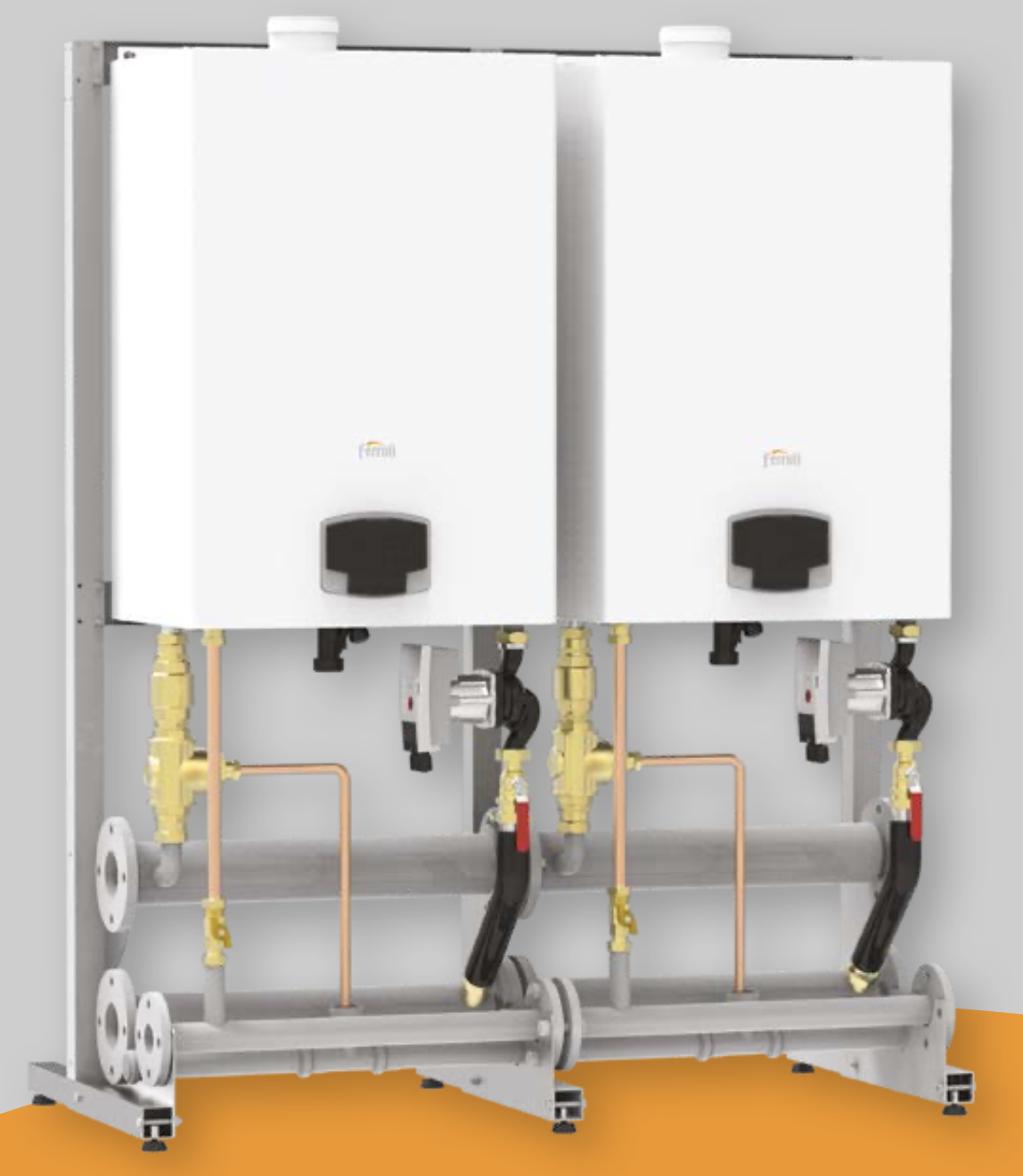 Zidni kotlovi na gas kapaciteta do 150 kW - FORCE W