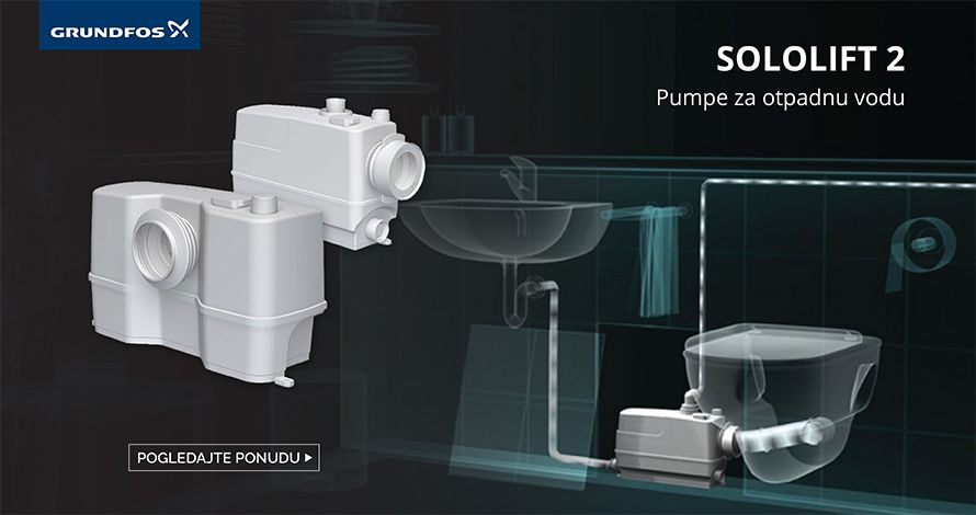 Grundfos pumpe za odpadnu vodu SOLOLIFT