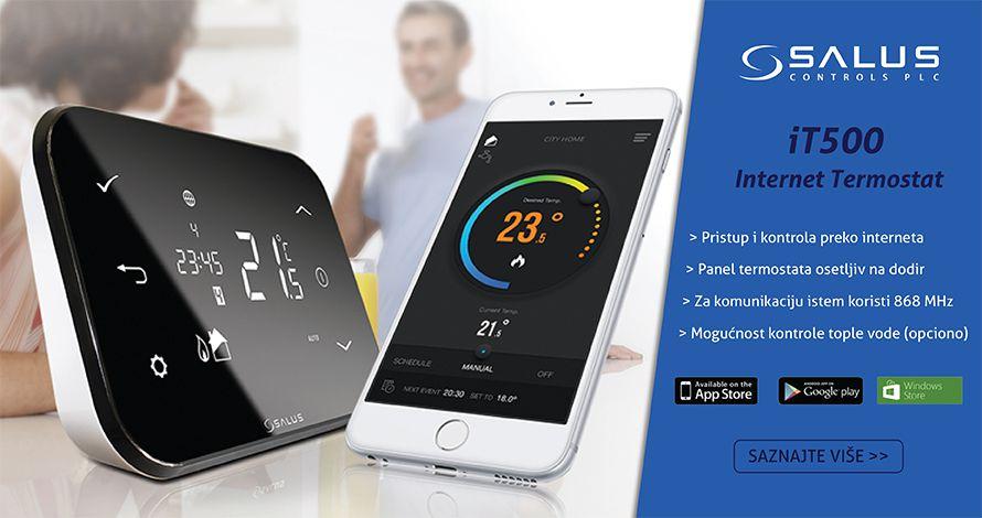 Termostat digitalni SALUS iT500 WiFi