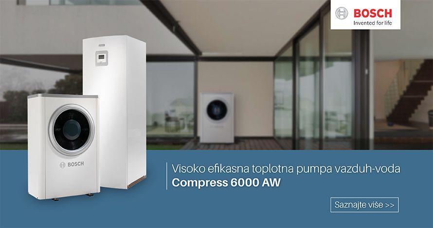 Toplotna pumpa BOSCH Compress 6000 AW