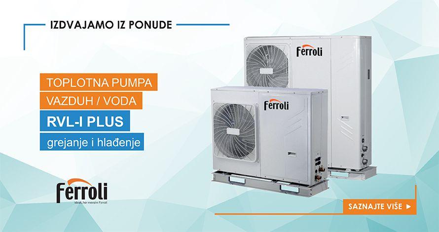Toplotna pumpa FERROLI RVL-I PLUS