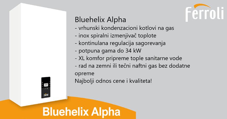 Kotao kondenzacioni FERROLI Bluehelix ALPHA