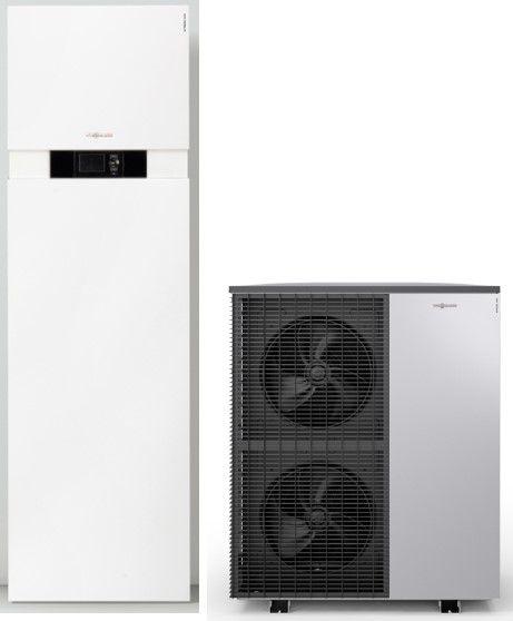 Toplotna pumpa VIESSMANN vazduh/voda VITOCAL 222-S sa bojlerom 210lit